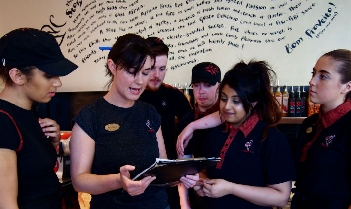 A Day in the Life of Gemma Kelly 1st Assistant Manager at Nando's