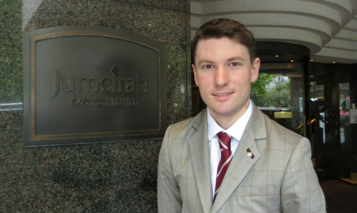 A Day In The Life of Jori Rijkers, Rooms Division Clerk at Jumeirah Carlton Tower