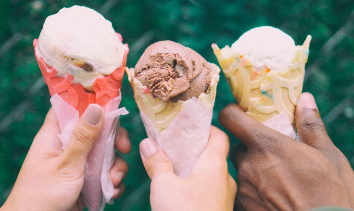 #WorkQuirks – Three pints of ice cream per day